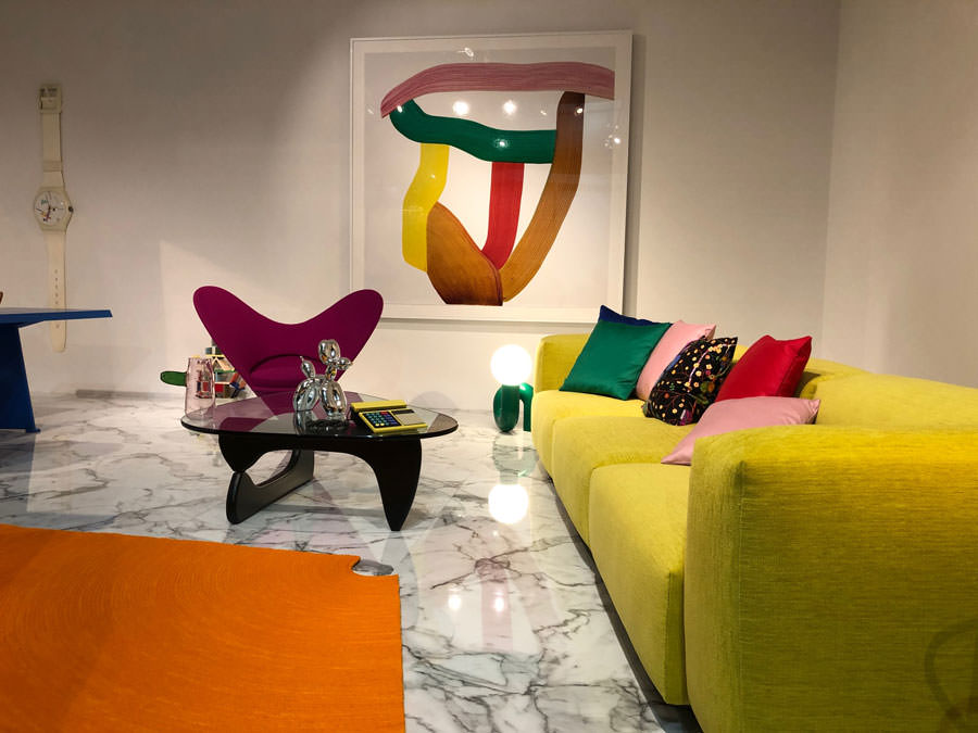 Latest trends in furniture for fairs and events at the Salone del Mobile Milano 2019
