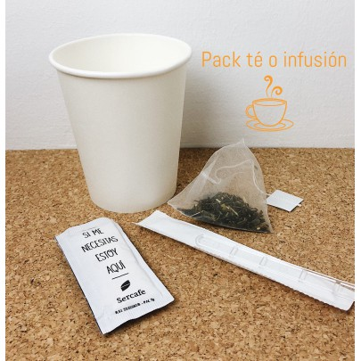 Pack tea or infusion